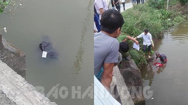 Phát hiện 1 thi thể nam giới dưới cầu Bà Kế