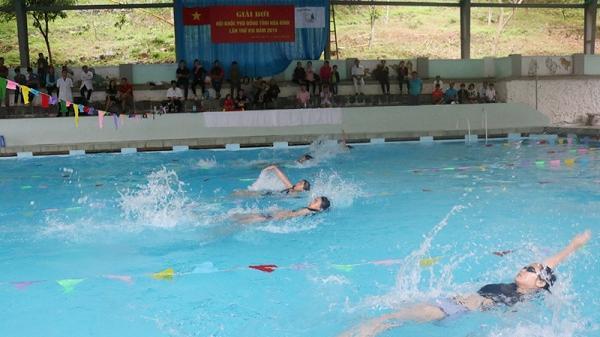 Vận động viên bơi lội triển vọng