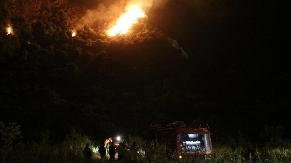 Ninh Bình: Thiệt hại 0,7ha rừng trong Danh thắng Tràng An do cháy 6h liên tục