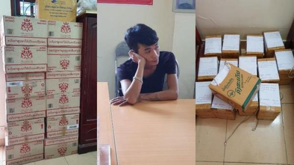 Điện Biên: Tạm giữ hình sự đối tượng tàng trữ, vận chuyển hàng cấm