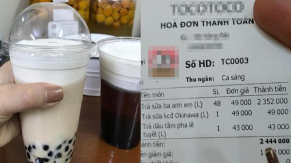 """Nửa đêm bị vợ đòi trà sữa, chồng """"chơi lớn"""" chi tiền triệu mua 50 cốc để cắt cơn nghiện nhưng cái kết quá bất ngờ"""