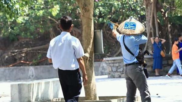 """Truy tìm du khách bắn khỉ để """"tiêu khiển"""" khi tham quan chùa Linh Ứng (Đà Nẵng)"""
