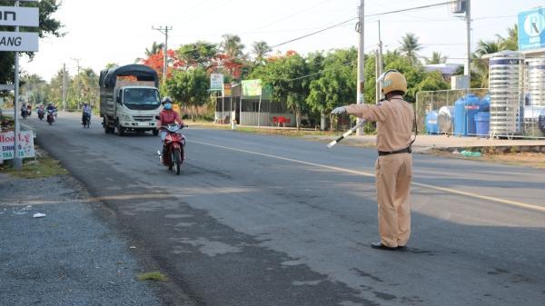 Công an tỉnh Trà Vinh: Ra quân tổng kiểm tra giao thông cơ giới đường bộ trên địa bàn toàn tỉnh