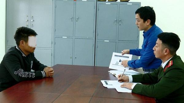 """Ninh Bình: Hai thanh niên tung tin về dịch Corona để """"câu like"""" bị xử phạt 16 triệu đồng"""