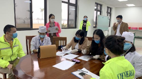 Thành phố Ninh Bình: Gần 40 người nước ngoài được cấp Giấy xác nhận hết thời gian cách ly