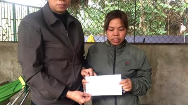 Yên Bái: Văn Yên giúp đỡ gia đình bị cháy nhà tại xã Yên Thái