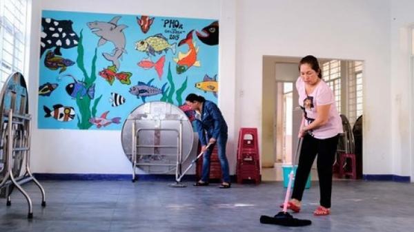 Trung tâm nuôi dạy trẻ mồ côi cho trẻ về nhà để chống dịch