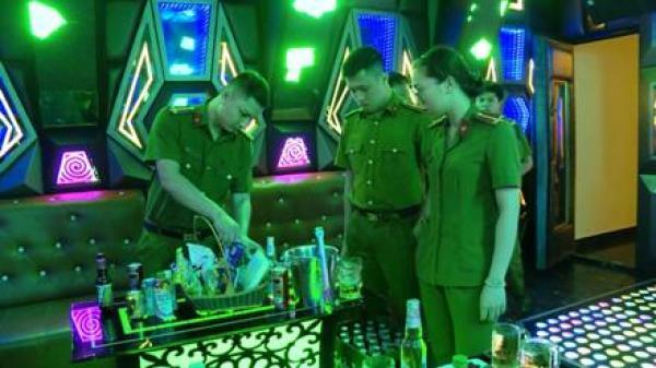 Công an T.P Ninh Bình kiểm tra gần 100 lượt cơ sở kinh doanh karaoke