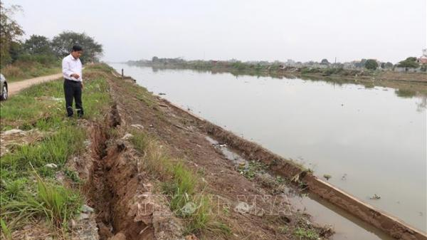Ninh Bình: Nơm nớp lo vỡ đê hữu sông Vạc
