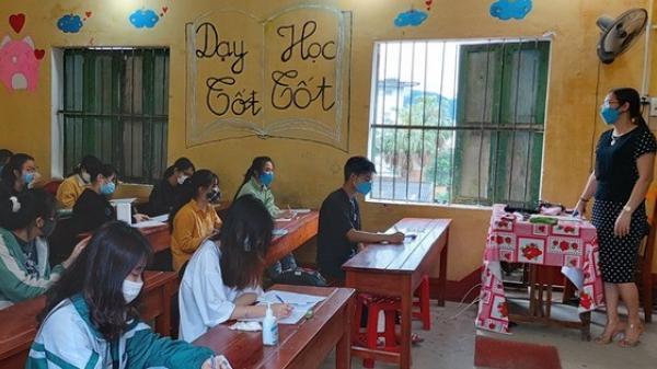 Yên Bái: Hình ảnh buổi học đầu tiên sau kỳ nghỉ chống dịch Covid-19