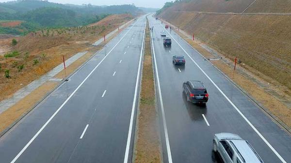 Yên Bái: Thông xe kỹ thuật công trình đường nối quốc lộ 32C với cao tốc Nội Bài - Lào Cai