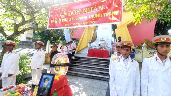 Lục Yên đón nhận và an táng hài cốt liệt sỹ Vương Trung Thành
