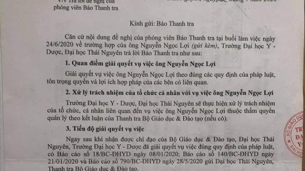 Trường Đại học Y dược Thái Nguyên đã gian dối suốt 32 năm qua
