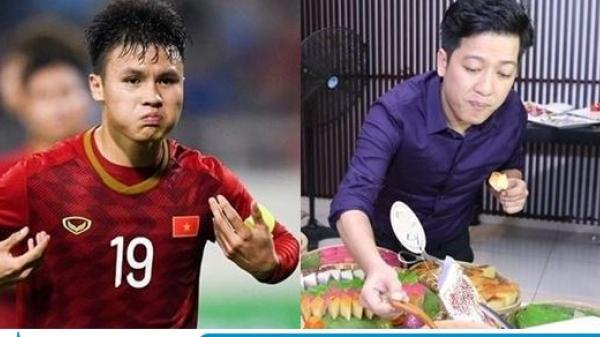 Dàn sao bức xúc với trọng tài, Trường Giang hứa khao tuyển Việt Nam ăn miễn phí trọn đời