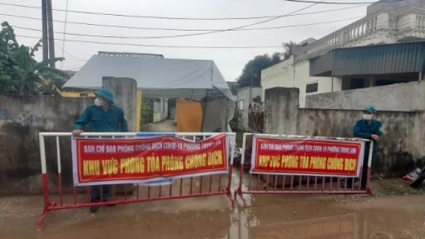 Thanh Hóa: Thành phố Sầm Sơn phong toả tạm thời cụm dân cư phố Quang Giáp, phường Trung Sơn