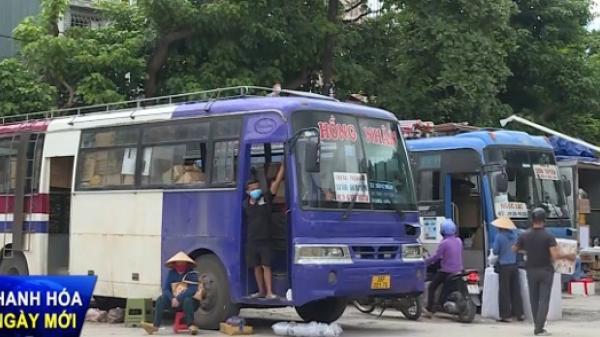 Thanh Hóa: Tăng cường chống dịch trong vận tải hành khách tại các bến xe