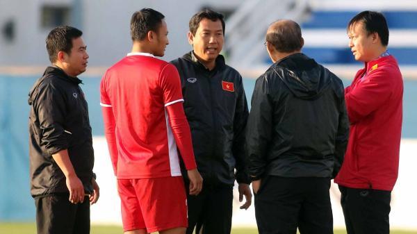 Quang Hải, Trọng Hoàng chấn thương, HLV Park lo lắng trước trận gặp Nhật Bản