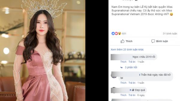 Rộ tin Nam Em đang tâm lý bất thường vẫn đi thi Hoa hậu Hoàn vũ, người hâm mộ kẻ mừng người lo
