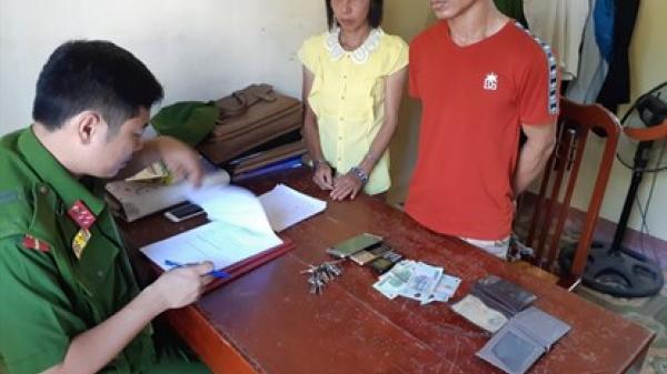 Ninh Bình: Bắt quả tang cặp vợ chồng thường xuyên trộm cắp trên địa bàn