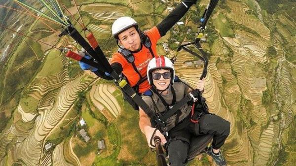 """Festival dù lượn """"Bay trên mùa nước đổ"""" tại Yên Bái trong top 4 điểm bay đẹp nhất Việt Nam"""