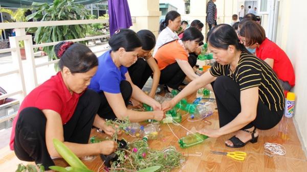 """Ninh Bình: Phụ nữ huyện Kim Sơn với phong trào """"Chống rác thải nhựa"""""""