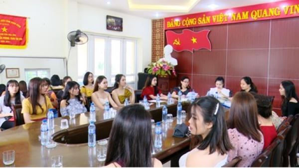 Ninh Bình: 25 thí sinh được chọn vào vòng sơ khảo Cuộc thi Người đẹp Hoa Lư
