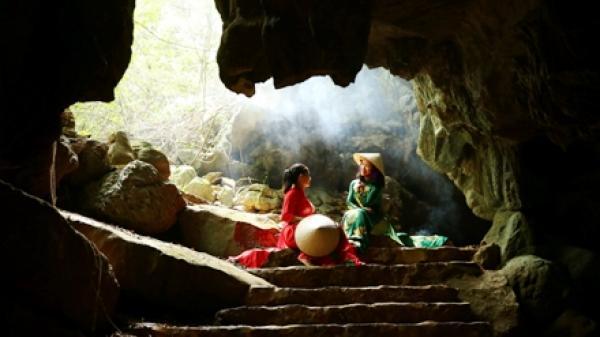 """Vẻ đẹp Ninh Bình: Động Thiên Hà- """"dải ngân hà trong lòng núi"""""""