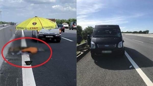 Hải Dương: Đi bộ qua cao tốc, người đàn ông bị xe khách 16 chỗ tông t.ử v.ong