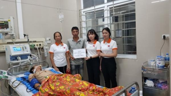 Ninh Bình: Trao 10 triệu đồng cho trường hợp bệnh nhân tai nạn giao thông