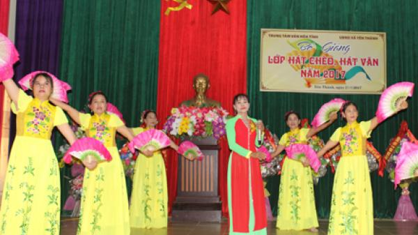 Ninh Bình: Chuyện về Câu lạc bộ hát xẩm, hát chèo Mai Hoa xã Yên Thành