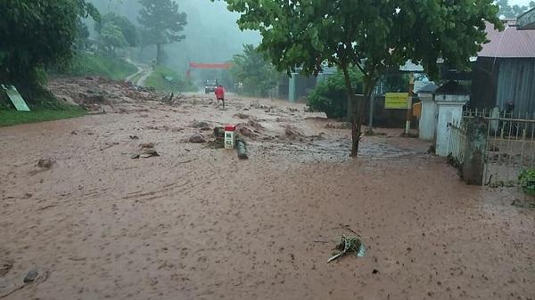 Cảnh báo lũ quét, s.ạt lở đất tại huyện Mường Ảng, Mường Chà, Điện Biên, Điện Biên Đông