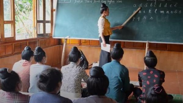 Ý nghĩa lớp học xóa mù chữ cho phụ nữ ở Điện Biên