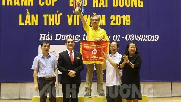 TP Chí Linh bảo vệ thành công ngôi vô địch 5 năm liên tục