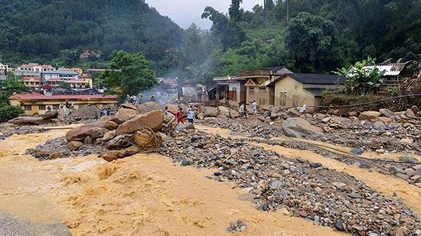 Cảnh báo lũ quét, sạt lở đất và ngập úng cục bộ trên địa bàn tỉnh Điện Biên