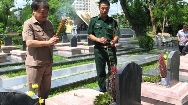Điện Biên dâng hương tưởng niệm các anh hùng liệt sỹ