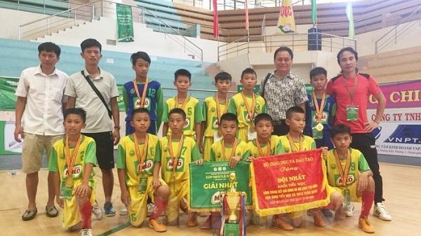 U11 Gia Bảo Hải Dương lần thứ 5 vô địch Giải bóng đá Hội khỏe Phù Đổng