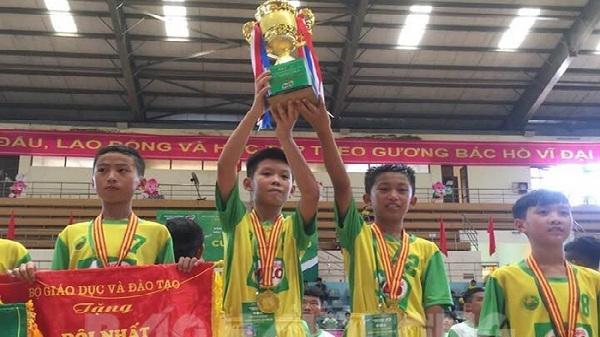 5 lần lên ngôi vô địch, bóng đá trẻ Hải Dương khẳng định vị trí số 1