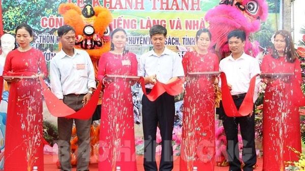 Khánh thành nhà bia tưởng niệm 18 cán bộ, du kích và nhân dân hy sinh ở Phú Điền, Nam Sách