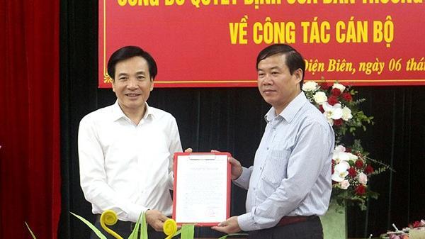 Công bố quyết định bổ nhiệm Trưởng ban Dân vận Tỉnh ủy