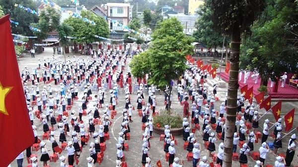 Điện Biên: Tỷ lệ huy động trẻ 6-10 tuổi đi học tiểu học đạt 99,6%