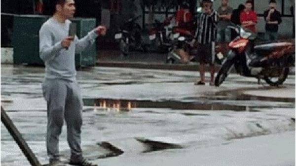 Ninh Bình: Đối tượng ngáo đá, cầm dao đuổi chém người qua đường