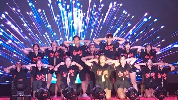 Nhóm nhảy Trường THPT Hồng Quang giành giải nhất liên hoan Nhóm nhạc, nhóm nhảy tỉnh Hải Dương