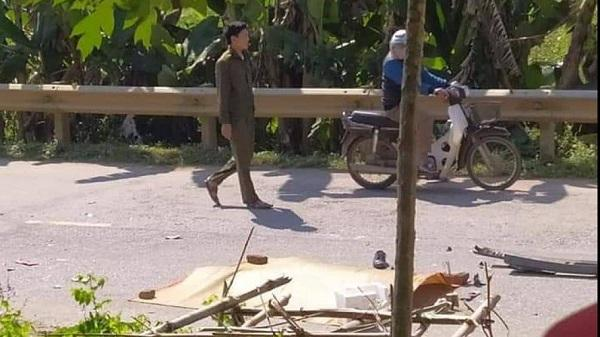 Hòa Bình: Va chạm với xe tải, một người đàn ông tử vong tại chỗ
