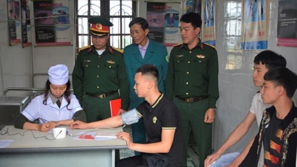 Hải Dương: Đăng ký và hoàn thành tốt khám sơ tuyển nghĩa vụ quân sự 2020