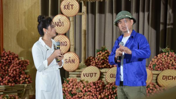 """Nghệ sĩ Xuân Bắc đội mũ cối livestream bán vải thiều giúp nông dân vùng dịch Covid-19, chốt đơn """"ào ào"""""""