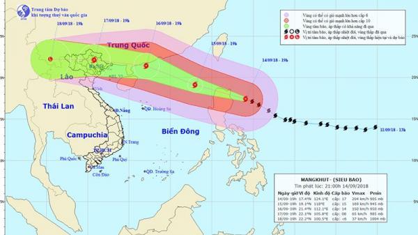 Siêu bão vào biển Đông, gần 400.000 quân ứng trực
