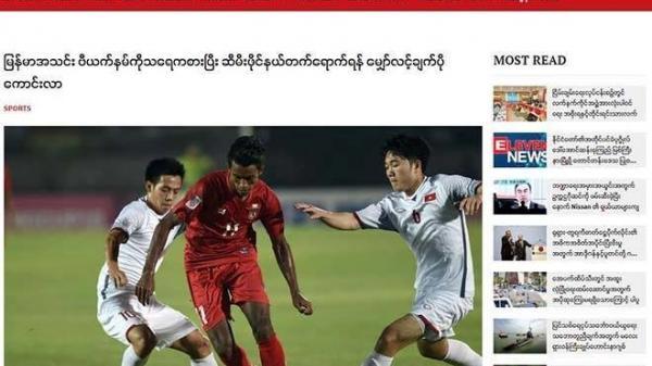 """Báo chí Myanmar: """"ĐT Việt Nam đã chủ động thủ hoà, may mắn lắm mới không thua ĐT Myanmar"""""""