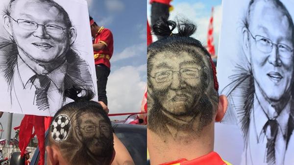 Quá thần tượng, dân mạng đổ xô đi tạo hình bố Park trên đầu, nhìn mặt cực ngầu