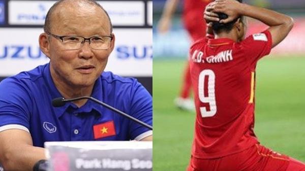 HLV Park nói gì về Hà Đức Chinh sau trận chung kết AFF CUP lượt đi?