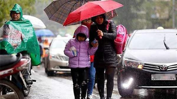 Dự báo thời tiết Noel 2018: Không khí lạnh tràn về, miền Bắc mưa rét đến hết Tết Dương lịch 2019